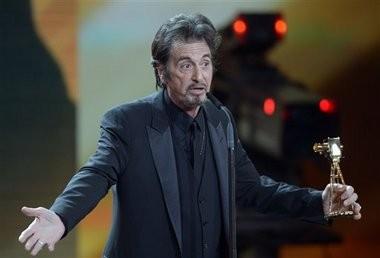 Al Pacino will play Joe Paterno in an upcoming movie directed by Brian DePalma. (AP Photo/Maurizio Gambarini, file)