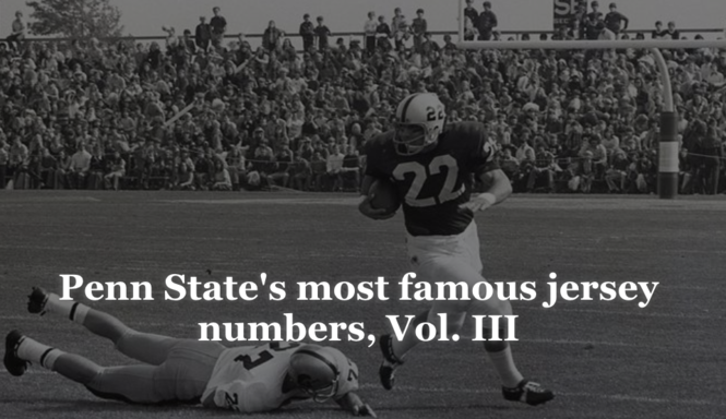 838281790fc Penn State's most famous jersey numbers: The greatness of 22, 42 (and 14  hasn't been bad, either)
