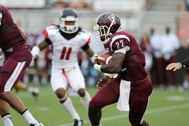 Central Dauphin East grad Chase Edmonds was a star in high school and he became a star at FCS Fordham under the direction of Joe Moorhead.