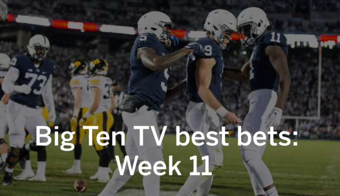 Penn State-Indiana is probably the top Big Ten TV best bet on a lean