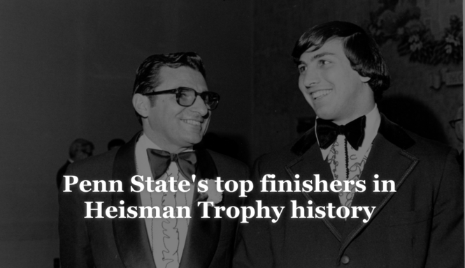 Penn State and the Heisman Trophy: The top Lions finishers in the