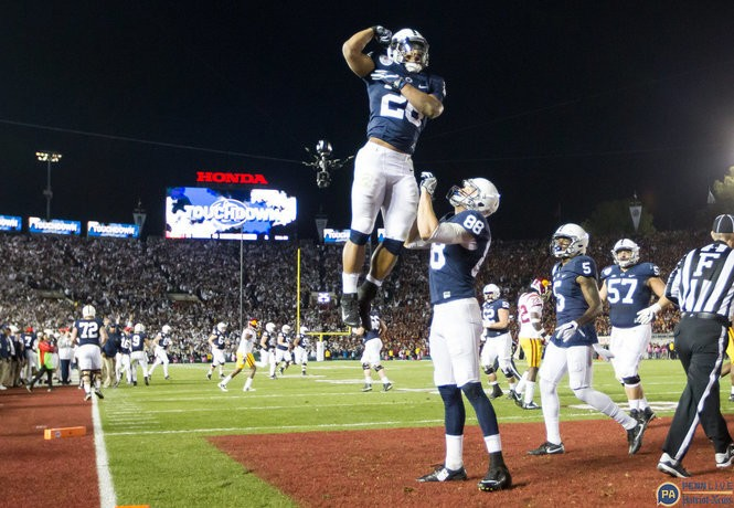 reputable site b56ca 115f7 Penn State's Saquon Barkley and the NFL Draft: Where the PSU ...