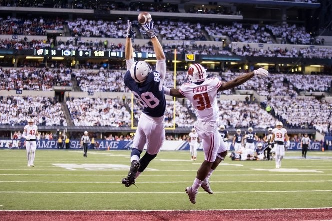 pretty nice 8e958 d37d2 Penn State's Big Picture at tight end: Mike Gesicki is the ...