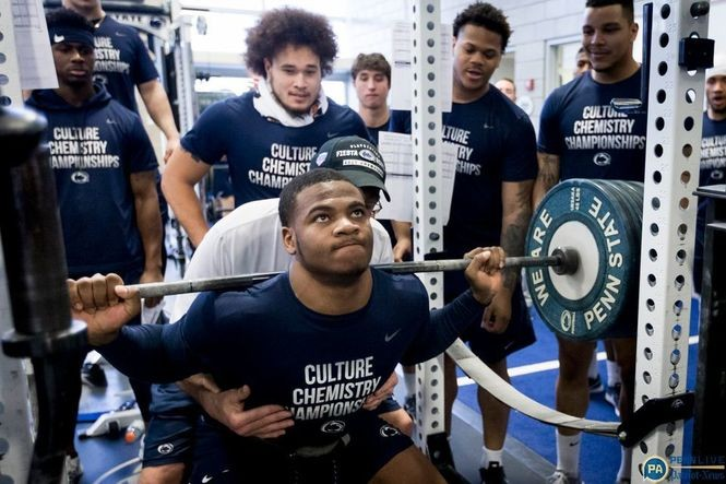Penn State's winter workout standouts: Strength coach Dwight Galt