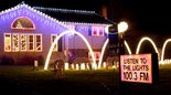 HOLIDAY EXTRAVAGANZA -- The holiday light show at Kevin Kolak's house features 150,000 lights.