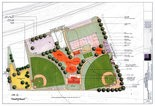 Grand Vision -- When all phases are complete, this is what Veterans Memorial Park in Newport could look like, with new concessions, rest rooms, walkways, handicapped-accessible amenities, playgrounds, and parking.