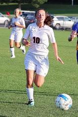 EXPERIENCE -- Starting defender Hayley Zettlemoyer will be part of Susquenita's core back line.