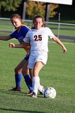 DEFENSE -- Defender Sam Schoffstall is one of Susquenita's six seniors who will line up for the Blackhawks this year.