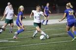 FRONT-LINE THREAT -- West Perry girls' soccer is hoping to count on junior striker Gracie Weaver (5) for scoring.