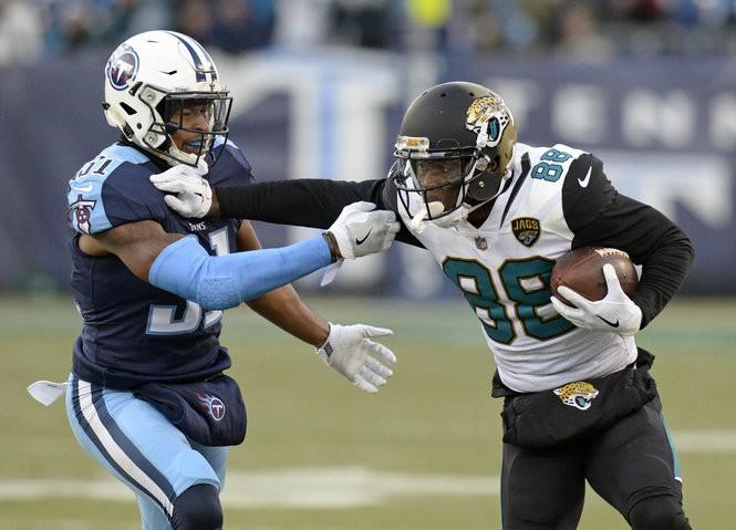 9a4e9c0660f The Cowboys signed former Jacksonville Jaguars wide receiver Allen Hurns  (88) on Friday. (AP Photo/Mark Zaleski)