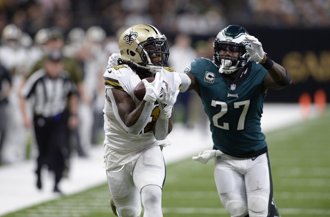 e31af09f0cf 5 matchups to watch in Eagles at Saints: Alvin Kamara-Malcolm Jenkins,  Alshon Jeffery-Eli Apple and more