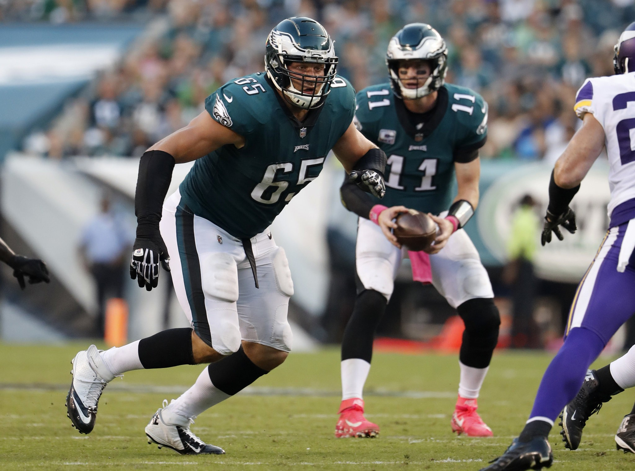 Philadelphia Eagles Injury Report Lane Johnson Sits Carson Wentz Jason Peters Limited And More Pennlive Com
