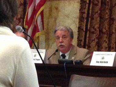 House Gaming Oversight Committee Chairman John Payne, R-Hershey, apologized for the amount of time, money and paperwork that the state makes tavern owners invest to obtain a tavern gaming license and said he wants to make that process more business-friendly.