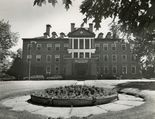 Shown here is a 1979 photo of the hospital's administration building.
