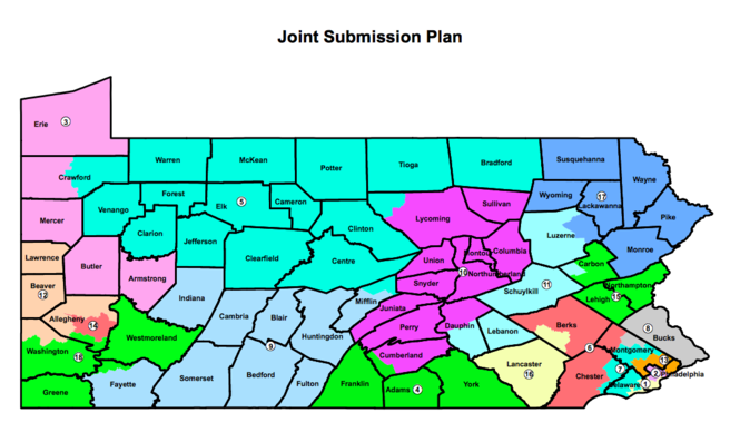 Lehigh Valley Zip Code Map.Pa Legislative Leaders Submit Proposed Congressional Map To Gov