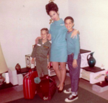 Scott Perry, seen here with his mother, Cecile, and older brother, James, after their move to the midstate.