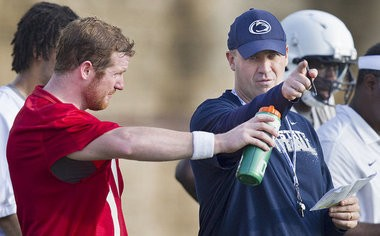 Penn State football head coach Bill O'Brien announced Thursday that Anthony Midget will coach the Nittany Lions' safeties in 2013.