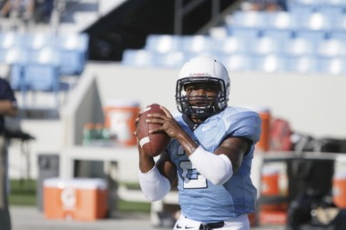 Ben Dupree, The Citadel's starting QB, believes he can play in the NFL as a third-down back and as a return man. Photo credit-The Citadel