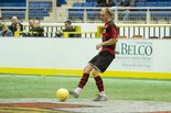 Defender Brad Kerstetter, shown last season, and other Harrisburg Heat players will be part of a revamped Major Arena Soccer League, a combination of the Professional Arena and Major Indoor Soccer Leagues.