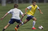 Shown training with the Harrisburg City Islanders in late June, Christian Pulisic will begin training at German club Borussia Dortmund as soon as all the needed paperwork is signed and approved.