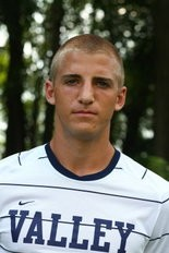 Chris Hall, shown during his days at Lebanon Valley College, collected one of the Harrisburg Heat's four goals in Saturday night's loss.