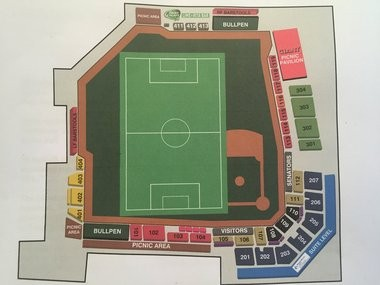 FNB Park will be transformed into a soccer field five times this season.