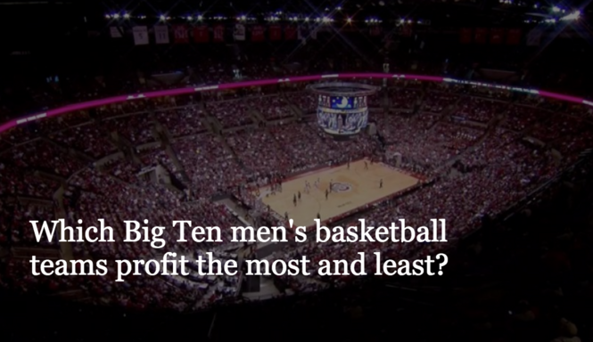 new concept 72262 79114 Which Big Ten men s basketball programs turn the largest and smallest  profits