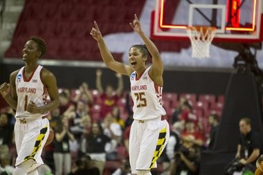 Thomas, a three-time ACC Player of the Year, finished as Maryland's career leader in points, rebounds, and double-doubles.