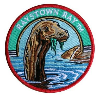 A patch available for purchase through the Raystown Ray website carries an artist's rendition of Raystown Ray based on witness reports.