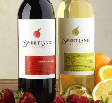The Sweetland Cellars label gives a new look to Boordy's sweeter wines.