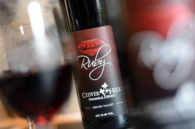 One of Clover Hill's uses of Chambourcin is in a new port it released in January 2016.