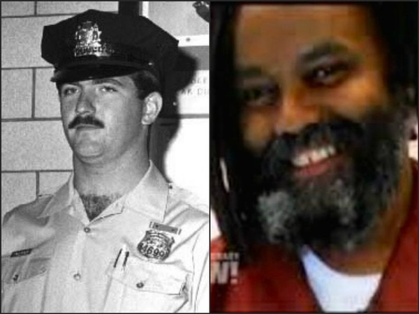 Mumia Abu-Jamal, right, is an inmate at a Pa. state prison for the 1981 murder of Philadelphia police officer Daniel Faulkner, left.