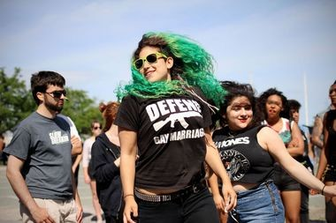 Dancers at Punk Island 2014, held at the Coast Guard Pier in St. George. (Staten Island Advance/VIncent Barone)