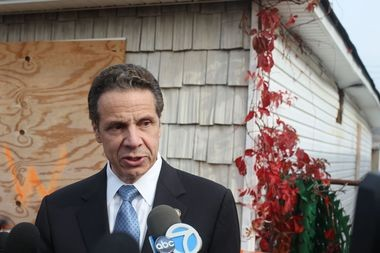 Gov. Cuomo says the state's buyout program and return to nature initiative in Oakwood Beach, Ocean Breeze and Graham Beach will be a model for the nation. (Staten Island Advance/Vincent Barone)