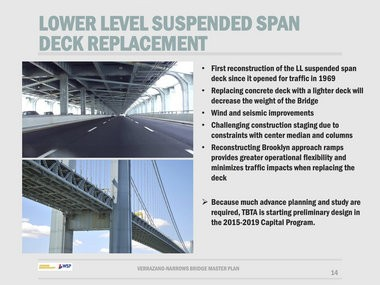 Decades of construction being planned for Verrazano-Narrows