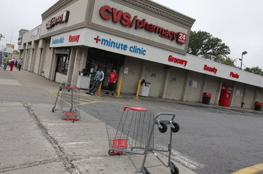 A lawsuit alleges a senior citizen was administered a flu shot at a CVS store on Hylan Boulevard, Dongan Hills, as seen in this 2012 file photo, with a needle used on another customer. (Staten Island Advance)