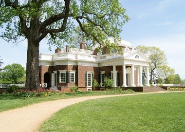 Thomas Jefferson's Poplar Forest home.