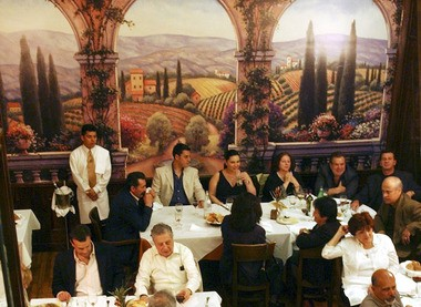 Patrons dine at Bocelli's in Grasmere in this 2005 file photo.