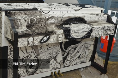 Tim Farley's Sing for Hope Piano.