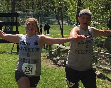 """""""Jimmy Da Gravedigger and Christine were among the most inspiring people at the High Rock Challenge on April 30, 2016. (Staten Island Advance/Lauren Steussy)"""