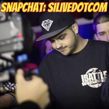 iBattle owner and rapper Lexx Luthor took over the Advance's Snapchat account, silivedotcom, on Tuesday. (Facebook)