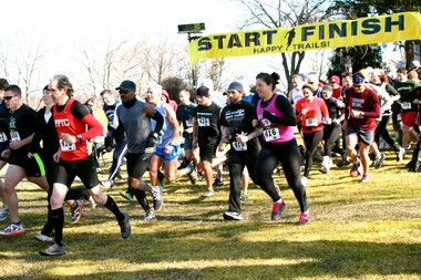The Greenbelt Conservancy's annual Cold Feat 10K race steps off at 10 a.m. Feb. 16 at LaTourette Golf Course.