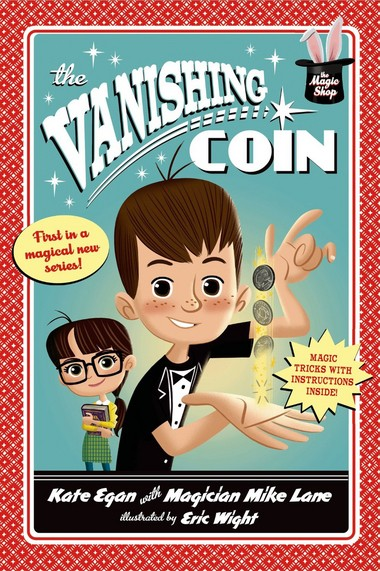"""ABOUT THE BOOK: Magician-author Mike Lane introduces literary alter ego in """"The Vanishing Coin""""Mike Weiss isn't very good at school, he's not good at sports, a bully picks on him constantly -- and the 9-year-old's hyper-activity often gets him into trouble, leading to ample time in the principal's office. That's pretty much the fourth-grader's life ... until a new neighbor, Norah, moves to town. She's good at everything: Straight As, plays piano, excels at soccer -- and she's an expert at not breaking the rules. Together the duo discovers Mr. Zerlin's dusty old antique shop. It's filled with all the classic gags: Whoopee cushions, hand-buzzers, chattering teeth (all the things author-magician Mike Lane says he """"lived for"""" as a kid). On a return trip, they discover a sign in the back: """"Secrets Inside."""" Being the mischievous type, Mike opens the door to find doves, a rabbit, trunks, wands, silks. """"It's a magic shop, and he feels like he belongs there, instantly,"""" Lane says. """"When little Mike begs Mr. Zerlin to teach him magic, the shopkeeper tells him, First you have to solve this riddle.'"""" Norah has no idea (and she-'s so smart and good at everything) but somehow Mike figures it out. Impressed, Mr. Zerlin gives his new apprentice a """"Book of Secrets"""" and he slowly starts to learn magic. This changes everything. This is what Mike is good at. """"He gains confidence and starts to believe in himself; he starts to focus,"""" Lane says. """"Over the course of the book, readers will learn magic tricks with him. I believe it's that hook that got me the book deal."""""""
