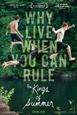 """""""The Kings of Summer"""" movie poster"""