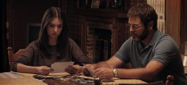 """Alison Brie (""""Mad Men,"""" """"Community"""") and Nick Offerman (""""Parks & Recreation"""") play daughter and father in """"The Kings of Summer."""""""