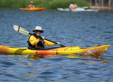 Get a workout and a new perspective with Kayak Staten Island in Freshkills Park.
