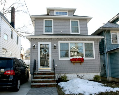 The two-and-a-half-story home on Maine Avenue where Joan Baez spent her earliest years is typical of middle class homes built in the first quarter of the 20th century with regard to style and scale.