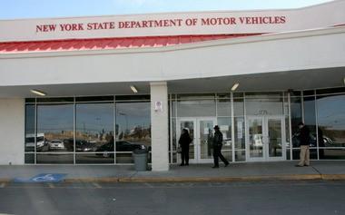 The Staten Island DMV office in Travis.