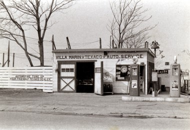 Where it all began in 1954: The Texaco service station in Mariners Harbor along Richmond Terrace owned by Louis Villamarin.
