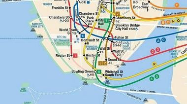 Subway Map In Manhatten.Web Based Nyc Subway Map Helps Riders Find Their Way Around Town